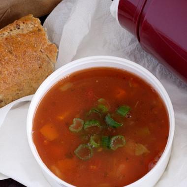 Рецепт Сливово-томатный суп-пюре