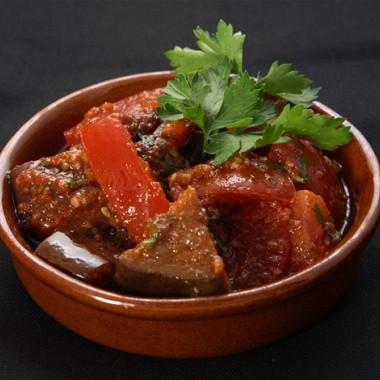 Рецепт Баклажаны втоматном соусе