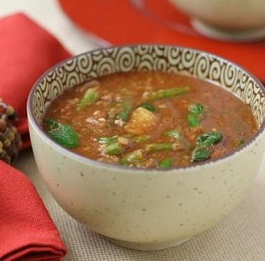 Рецепт Суп изчечевицы вегетарианский