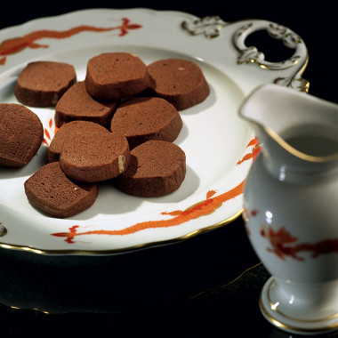 Рецепт Шоколадно-апельсиновое печенье