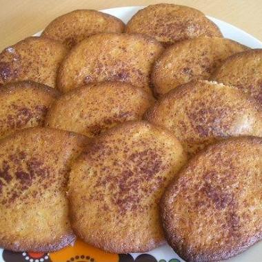 Рецепт Банановое печенье сорехами икорицей