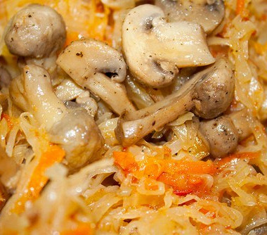 Рецепт Солянка грибная