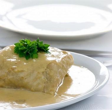 Рецепт Голубцы свареным мясом, рисом иовощами