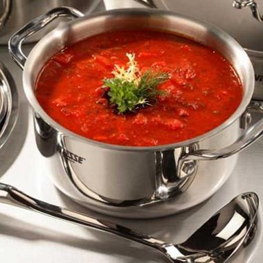 Рецепт Борщ сквашеной капустой ифасолью