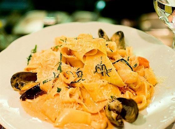 паста с морепродуктами как в ресторане рецепт