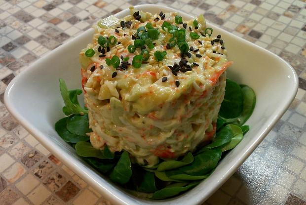 мясо аморе крабовое в сырном соусе рецепт