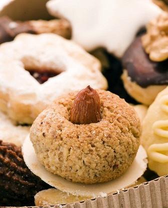 рецепт орехового песочного печенья