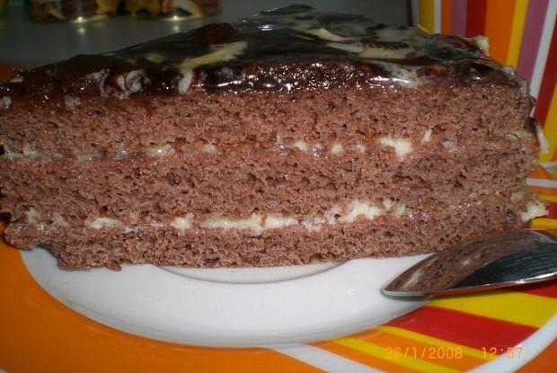 Пражский торт пошаговый рецепт со сгущенкой 79