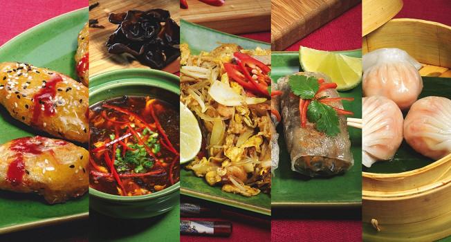 Паназиатская еда