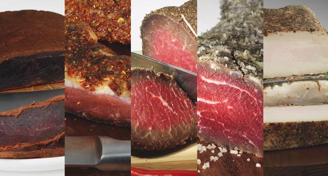 Вяленое и соленое мясо