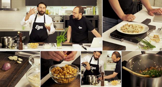 «Еда на ночь»: Мирко Дзаго в гостях у «Еды»