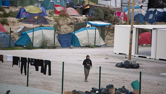 Во Франции в результате драки в лагере для беженцев погиб мигрант