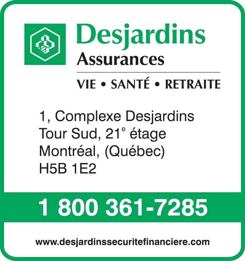 Desjardins 401k online feed requirements
