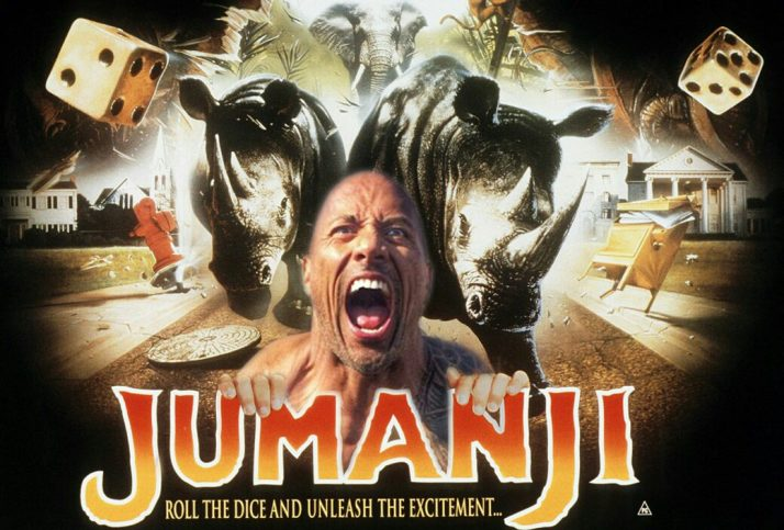 Jumanji Welcome to the Jungle (2017) Full Movie Online