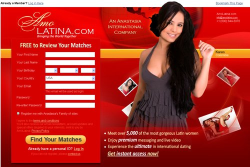 Latin dating sites