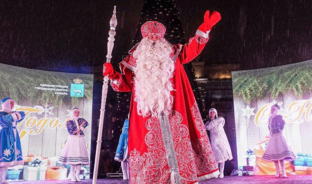 ВВеликом Устюге отмечают День рождения Деда Мороза