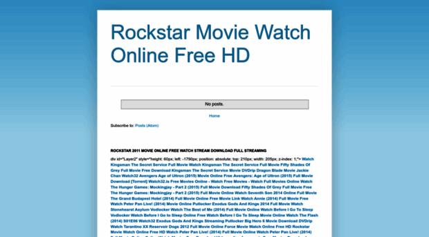 Rockstar (2011) - Free online movies
