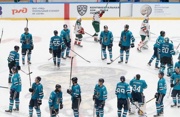 Хоккейный клуб «Сочи» отправил вотставку главного тренера Александра Андриевского