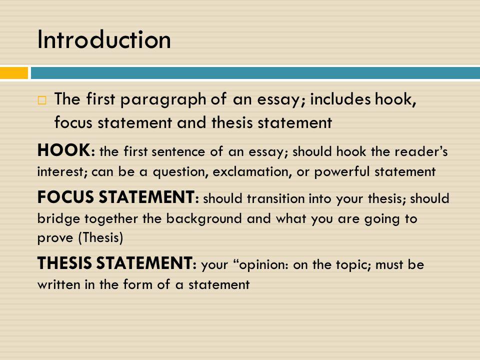 Critical essay earnest