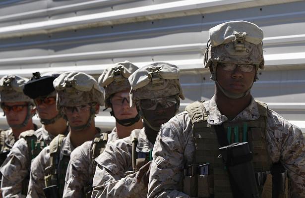 Морские пехотинцы СШАвысадились уграницы России