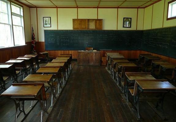 Вшколе Архангельска обрушился потолок вовремя урока географии