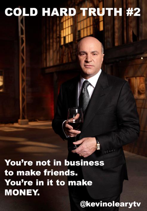 Kevin O'Leary: Cold Hard Truth On Men, Women and