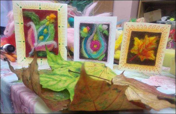 Вцентре «СОЦ-ИН» провели мастер-классы пошерсти «Теплые подарки»