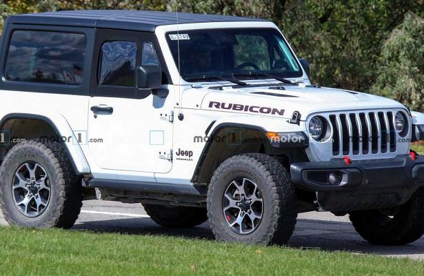 Jeep готовится представить полудвери дляWrangler JL