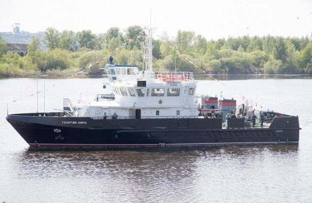 Уникальный катер-гидрограф спустили наводу вНижегородской области