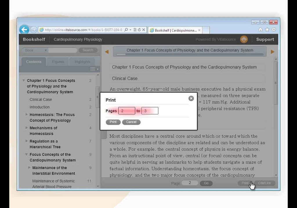 How to remove vitalsource vbk ebook DRM and save to pdf