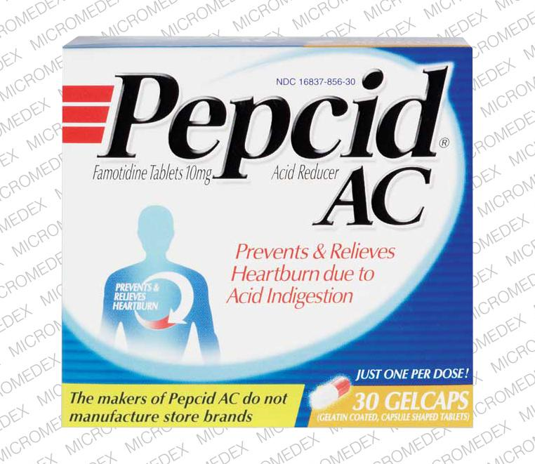 Pepcid instructions