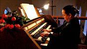 Екатерина Монисова (сопрано), Анастасия Сидельникова (орган)