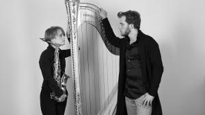 «Саксофон и арфа»: Вероника Кожухарова и Александр Болдачев